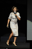LAS VEGAS, NV - APRIL 25: Taraji P. Henson onstage during the Paramount Pictures presentation at CinemaCon 2018 at The Colosseum at Caesars Palace on April 25, 2018 in Las Vegas, Nevada. (Photo by Frank Micelotta/PictureGroup)