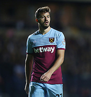 West Ham United's Albian Ajeti<br /> <br /> Photographer Rob Newell/CameraSport<br /> <br /> The Carabao Cup Third Round - Oxford United v West Ham United - Wednesday 25th September 2019 - Kassam Stadium - Oxford<br />  <br /> World Copyright © 2019 CameraSport. All rights reserved. 43 Linden Ave. Countesthorpe. Leicester. England. LE8 5PG - Tel: +44 (0) 116 277 4147 - admin@camerasport.com - www.camerasport.com