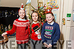 At the Moyderwell Primary School  Christmas Concert on Monday were Isabel Maloney, Grace McCannon and Lily O'Brien