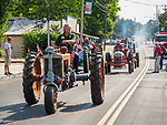 Tractor and children's parade during opening day on Main Street, for the 80th Amador County Fair, Plymouth, Calif.<br /> .<br /> .<br /> .<br /> .<br /> #AmadorCountyFair, #1SmallCountyFair, #PlymouthCalifornia, #TourAmador, #VisitAmador