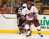 Tyler Moy (Harvard - 2) - The Harvard University Crimson defeated the Northeastern University Huskies 4-3 in the opening game of the 2017 Beanpot on Monday, February 6, 2017, at TD Garden in Boston, Massachusetts.