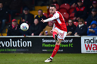 Fleetwood Town's Gethin Jones in action<br /> <br /> Photographer Richard Martin-Roberts/CameraSport<br /> <br /> The EFL Sky Bet League One - Fleetwood Town v Plymouth Argyle - Saturday 10th March 2018 - Highbury Stadium - Fleetwood<br /> <br /> World Copyright &not;&copy; 2018 CameraSport. All rights reserved. 43 Linden Ave. Countesthorpe. Leicester. England. LE8 5PG - Tel: +44 (0) 116 277 4147 - admin@camerasport.com - www.camerasport.com