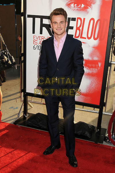 """Allan Hyde.HBO's """"True Blood"""" Season 5 Premiere, Hollywood, California, USA..May 30th, 2012.full length suit shirt pink black.CAP/ADM/BP.©Byron Purvis/AdMedia/Capital Pictures."""