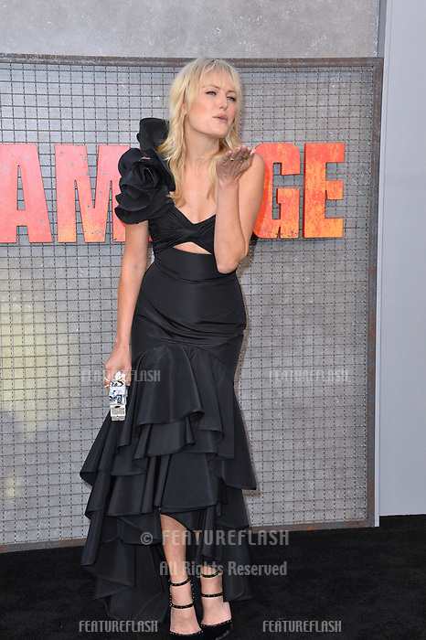 Malin Akerman at the premiere for &quot;Rampage&quot; at the Microsoft Theatre, Los Angeles, USA 04 April 2018<br /> Picture: Paul Smith/Featureflash/SilverHub 0208 004 5359 sales@silverhubmedia.com