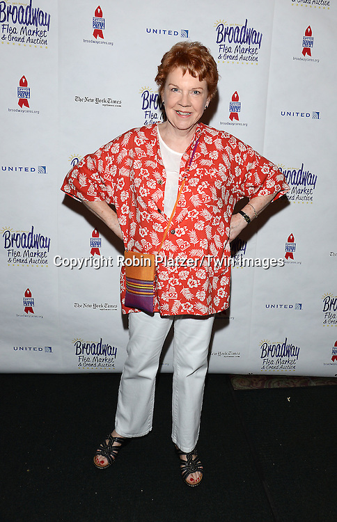 Beth Fowler attends the 28th Annual  Broadway Cares/ Equity Fights Aids Flea Market and Auction on September 21,2014 in Shubert Alley in New York City. <br /> <br /> photo by Robin Platzer/Twin Images<br />  <br /> phone number 212-935-0770