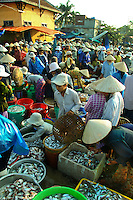 "Hoi An Wet Market - Though most Vietnamese markets are very colorful and active, Hoi An's ""wet"" market positively hums and vibrates with action from morning till mid afternoon.  Here you'll find everything from fresh crabs to herbs and produce to souvenir items."