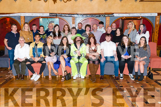 Lester Arnopp from Killorglin celebrated his 50th birthday surrounded by friends and family in the Killarney Avenue Hotel, last Saturday night.