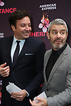 """Jimmy Fallon and Andy Cohen attends Opening Night performance of """"The Inheritance"""" at the Barrymore Theatre on November 17, 2019 in New York City."""