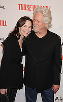 WWW.BLUESTAR-IMAGES.COM   Actor Bruce Davison (R) and wife Michele Davison arrive at the premiere party for A&E's Season 2 of 'Bates Motel' and the series premiere of 'Those Who Kill' at Warwick on February 26, 2014 in Los Angeles, California.<br /> Photo: BlueStar Images/OIC jbm1005  +44 (0)208 445 8588
