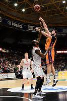 Dubljevic vs Akindele<br /> Liga Endesa ACB - 2014/15<br /> J17<br /> Valencia Basket vs Montakit Fuenlabrada