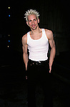 Tony Vincent at Jesus Christ Superstar Backstage/Opening Night at Ford Center in New York City on April 15th, 2000.