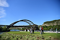 Jon Rahm (ESP) and Shane Lowry (IRL) prepare to tee off on 13 during round 2 of the World Golf Championships, Dell Technologies Match Play, Austin Country Club, Austin, Texas, USA. 3/23/2017.<br /> Picture: Golffile | Ken Murray<br /> <br /> <br /> All photo usage must carry mandatory copyright credit (&copy; Golffile | Ken Murray)
