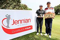 Denzel Ieremai and Fiona Xu win the Charles Tour, Christies Flooring Mt Maunganui Open, Mt Maunganui Golf Club, Tauranga, New Zealand. Sunday 15 December 2019. Photo: Simon Watts/www.bwmedia.co.nz/NZGolf