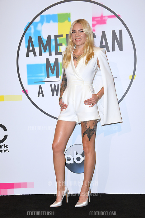 Skylar Grey at the 2017 American Music Awards at the Microsoft Theatre LA Live, Los Angeles, USA 19 Nov. 2017<br /> Picture: Paul Smith/Featureflash/SilverHub 0208 004 5359 sales@silverhubmedia.com