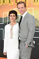 "Helen McCrory and Damian Lewis<br /> arriving for the ""Once Upon a Time... in Hollywood"" premiere, Leicester Square, London<br /> <br /> ©Ash Knotek  D3514  30/07/2019"
