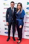 Joaquin Sanchez and his partner attends the As Awards<br /> December  3, 2019. <br /> (ALTERPHOTOS/David Jar)