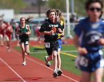 Local middle school athletes compete in the annual Tah-Neva Track Meet at Carson High School  on Wednesday, May 18, 2011, in Carson City, Nev..Photo by Cathleen Allison