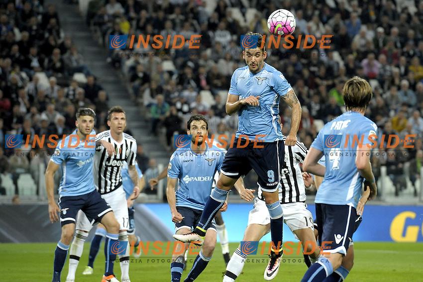 Filip Djordjevic Lazio,<br /> Torino 20-04-2016, Juventus Stadium, Football Calcio 2015/2016 Serie A, Juventus - Lazio, Foto Filippo Alfero/Insidefoto