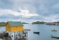 Village of Steine, Lofoten islands, Norway