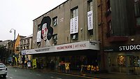 Pictured: The Volcano Theatre, High Street, Swansea. Saturday 15 July 2017<br />Re: The Troublemakers Festival, on the High Street, Swansea, south Wales, UK.