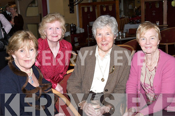 CHRISTMAS: Little Christmas dinner was enjoyed at Ballybunion Golf Club by Madge Grourke (Moyvane), Martina Reid (Ballybunion) and Loyola OSullivan (Tralee)..