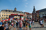 Sign on before Stage 4 of the Deutschland Tour 2019, running 159.5km from Eisenach to Erfurt, Germany. 1st September 2019.<br /> Picture: ASO/Marcel Hilger | Cyclefile<br /> All photos usage must carry mandatory copyright credit (© Cyclefile | ASO/Marcel Hilger)