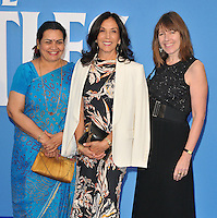 Olivia Harrison ( centre ) and guests at the &quot;The Beatles Eight Days A Week: The Touring Years&quot; world film premiere, Odeon Leicester Square cinema, Leicester Square, London, England, UK, on Thursday 15 September 2016.<br /> CAP/CAN<br /> &copy;CAN/Capital Pictures /MediaPunch ***NORTH AND SOUTH AMERICAS ONLY***