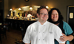 Chef Christian Czerwonka and his wife Leah, owners of Christian's Bistro in Plover, Wis. (DOUG WOJCIK/STEVENS POINT JOURNAL)