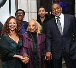 Debbie Allen, Vivian Ayers, Norman Nixon Jr. and Norm Nixon attends the Broadway Opening Night of  'Saint Joan' at the Samuel J. Friedman Theatre on April 25, 2018 in New York City.