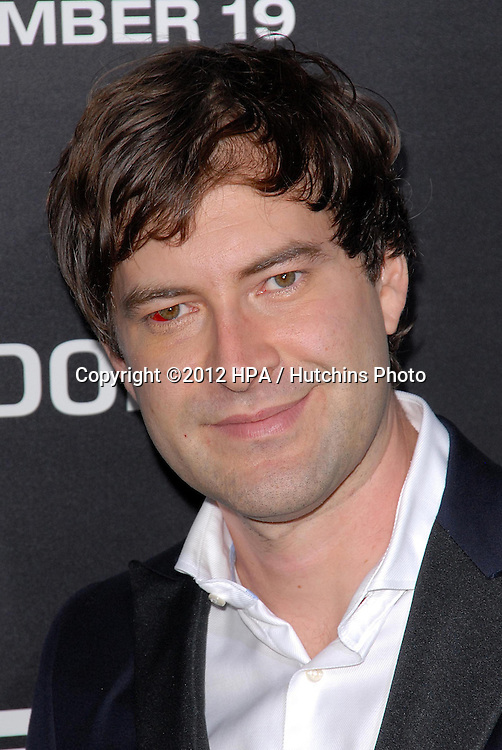 LOS ANGELES - DEC 10:  Mark Duplass arrives to the 'Zero Dark Thirty' premiere at Dolby Theater on December 10, 2012 in Los Angeles, CA