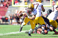 College Park, MD - OCT 15, 2016: Minnesota Golden Gophers running back Shannon Brooks (23) in action during game between Maryland and Minnesota at Capital One Field at Maryland Stadium in College Park, MD. (Photo by Phil Peters/Media Images International)