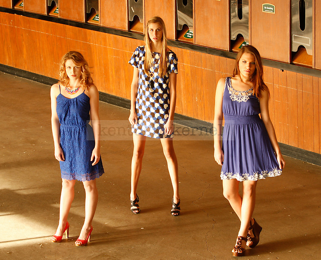 Keeneland spring fashion photo shoot.  Photo by Quianna Lige | Staff