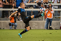SAN JOSE, CA - AUGUST 24: Jackson Yueill #14 of the San Jose Earthquakes during a game between Vancouver Whitecaps FC and San Jose Earthquakes at Avaya Stadium on August 24, 2019 in San Jose, California.