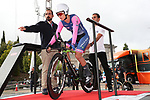 Llaria Sanguineti (ITA) Valcar Cylance Cycling in action during Stage 1 of the Ceratizit Madrid Challenge by La Vuelta 2019 running 9.3km individual time trial around Boadilla del Monte, Spain. 14th September 2019.<br /> Picture: Luis Angel Gomez/Photogomezsport | Cyclefile<br /> <br /> All photos usage must carry mandatory copyright credit (© Cyclefile | Luis Angel Gomez/Photogomezsport)