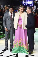 "M. Night Shyamalan, Sarah Paulson and James McAvoy<br /> arriving for the ""Glass"" premiere at the Curzon Mayfair, London<br /> <br /> ©Ash Knotek  D3470  09/01/2019"