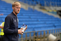 Huddersfield Town's Ryan Schofield arrives at Cardiff City stadium <br /> <br /> Photographer Ian Cook/CameraSport<br /> <br /> The EFL Sky Bet Championship - Cardiff City v Huddersfield Town - Wednesday August 21st 2019 - Cardiff City Stadium - Cardiff<br /> <br /> World Copyright © 2019 CameraSport. All rights reserved. 43 Linden Ave. Countesthorpe. Leicester. England. LE8 5PG - Tel: +44 (0) 116 277 4147 - admin@camerasport.com - www.camerasport.com