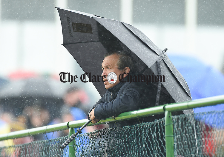 Michael Malty Mc Donagh of St Joseph's Miltown Malbay looks on during their first round senior championship game against St Breckan's in Ennistymon. Photograph by John Kelly