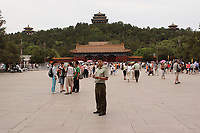 Beijing ,China- 2007 File Photo -<br /> <br /> tiananmen Place in Beijing<br /> <br /> <br /> <br /> photo : James Wong-  Images Distribution