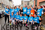 Jigsaw Kerry runners at the start of the Kerry's Eye Tralee, Tralee Half Marathon on Saturday were front from left: Graham Nelligan, Linda Galvin, Siobhan O'Sullivan, Mary Coffey, Margret Foley and Evelyn O'Connell.<br /> Back from left: Laragh McCann, George Glover, Joan Glover, Anne O'Leary, Eileen Brennan, Fred O'Connell, Catherine Conroy, Karen Nelligan and Raedh O'Sullivan