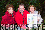 Audrey O'Sullivan, Martin Greenwood and Mary Ita Ladden who have organised a St Stephen's day walk in aid of the Maine Valley Family Centre which will start at Milltown Community Centre and go through Killaclohane Woods