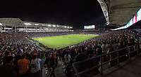 CARSON, CA - SEPTEMBER 21: Dignity Health Sports Park over view during a game between Montreal Impact and Los Angeles Galaxy at Dignity Health Sports Park on September 21, 2019 in Carson, California.