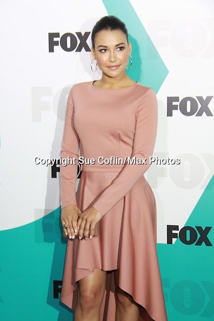 """Glee's Naya Rivera """"Santana Lopez"""" at The Fox 2012 Programming Presentation on May 14, 2012 at Wollman Rink, Central Park, New York City, New York. (Photo by Sue Coflin/Max Photos) 917-647-8403"""