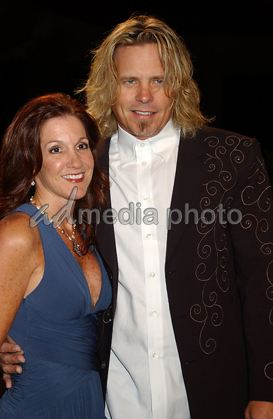 06 November 2007 - Nashville, Tennessee - Jeffrey Steele and wife. BMI Country Awards 2007 held at BMI Headquarters. Photo Credit: Laura Farr/AdMedia