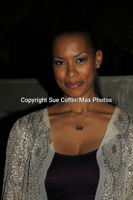 "One Life To Live's Kearran Giovanni ""Dr. Vivian Wright"" attends ABC Daytime Soap Casino Night with the Stars on October 28, 2010 at Guastavinos, New York City, New York. (Photo by Sue Coflin/Max Photos)"