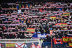 Atletico de Madrid's fans celebrate for their team during their La Liga match between Atletico de Madrid and RC Celta de Vigo at the Vicente Calderón Stadium on 12 February 2017 in Madrid, Spain. Photo by Diego Gonzalez Souto / Power Sport Images