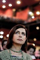 Roma, 11 Marzo 2017<br /> Laura Boldrini.<br /> La prima cosa bella.<br /> Nasce Campo Progressista, assemblea al teatro Brancaccio di Roma