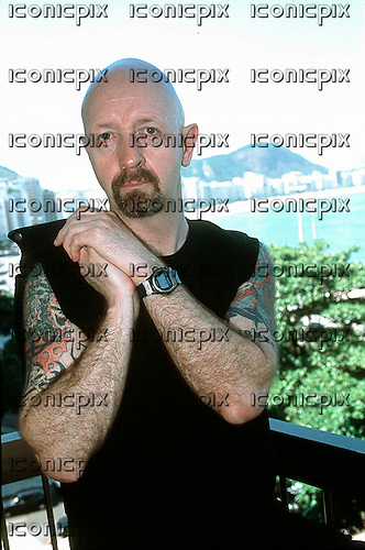 Judas Priest - vocalist Rob Halford - exclusive Photosession in <br /> Rio de Janeiro Brazil - 20 Jan 2001.  Photo credit: George Chin/IconicPix