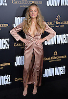 Tanya Mityushina at the premiere of &quot;John Wick Chapter Two&quot; at the Arclight Theatre, Hollywood. <br /> Los Angeles, USA 30th January  2017<br /> Picture: Paul Smith/Featureflash/SilverHub 0208 004 5359 sales@silverhubmedia.com