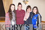 AWARDS: Enjoying a great time at the Kerins O'Rahillys ladies awards night a the Strand Road club on Friday l-r: Cliodhna Hayes, Rachel O'Connor, Kim Green annd Mairead McCormack.