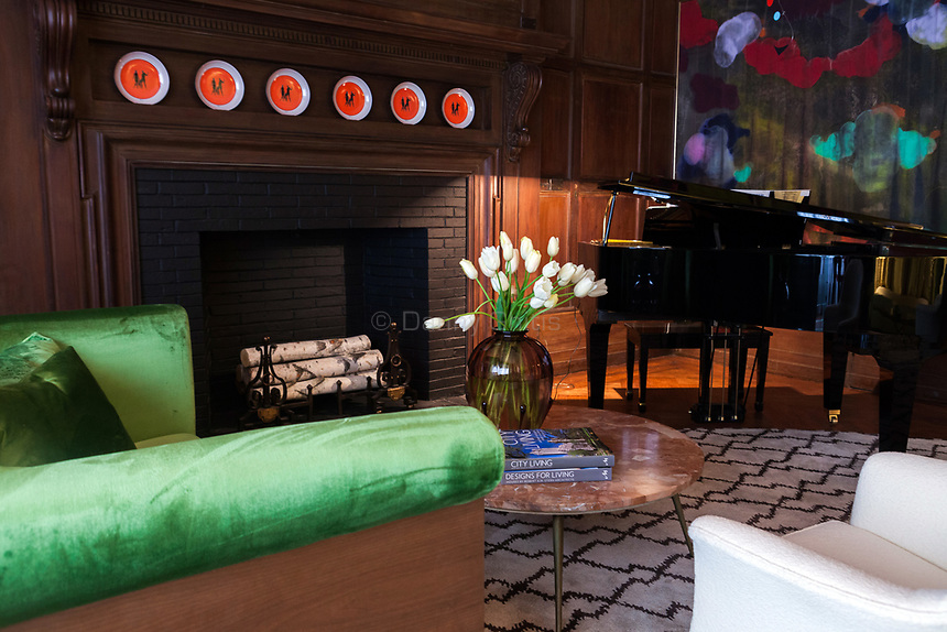 Design by Robert A.M. Stern Architects at The 45th Kips Bay Decorator Show House, at 125 East 65th St. <br /> <br /> Danny Ghitis for The New York Times